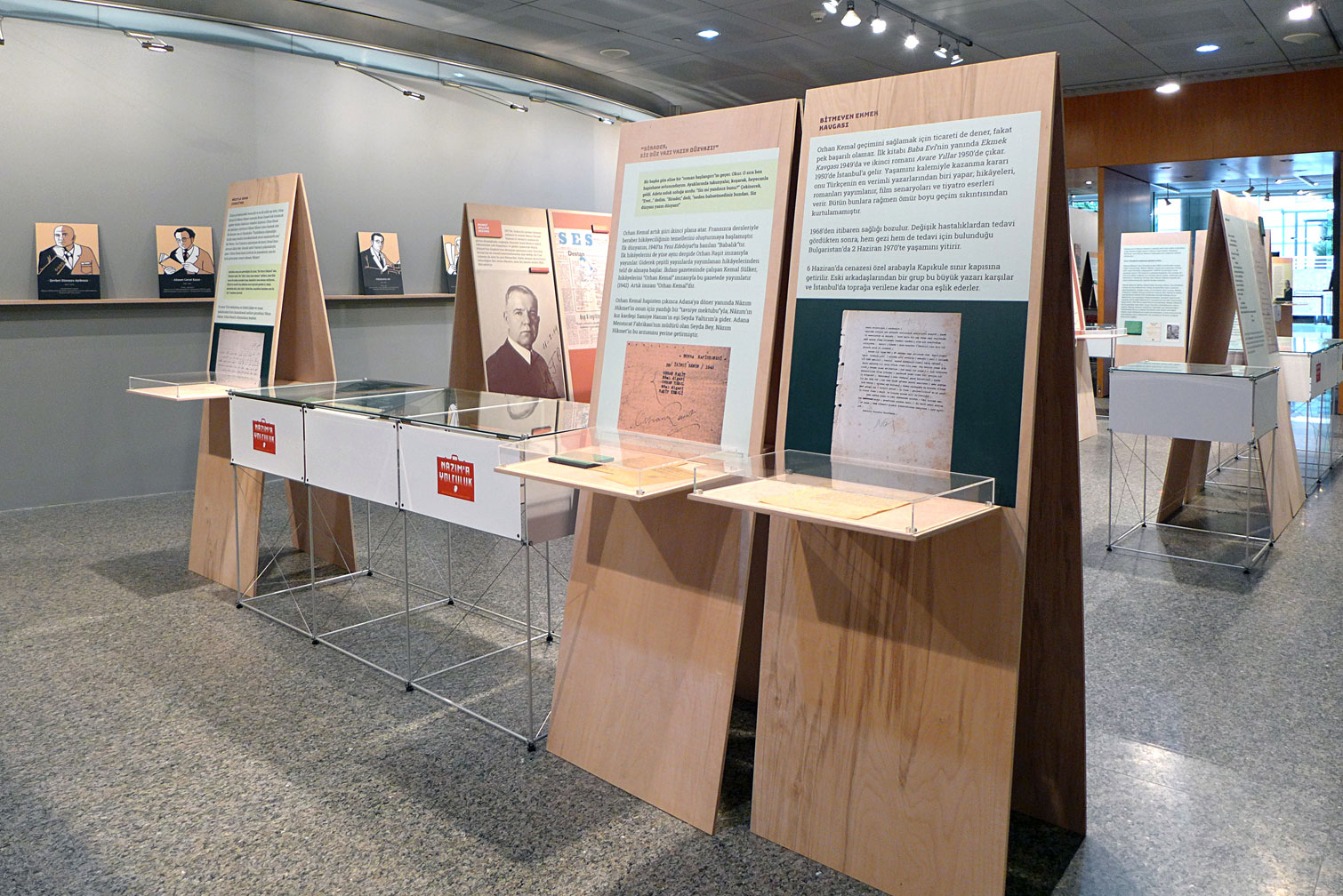 clic in der Ausstellung